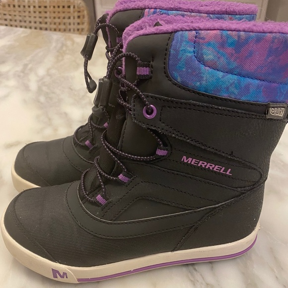 girls size 2 snow boots